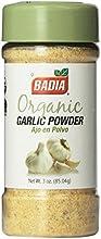 Badia Organic Garlic Powder 3-Ounce