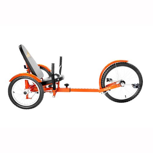 Mobo Triton Pro Ultimate Three Wheeled Cruiser, Orange, 20-Inch
