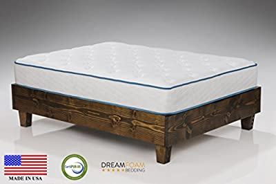 "Arctic Dreams 10"" Cooling Gel Mattress Made in the USA by Dreamfoam Bedding"