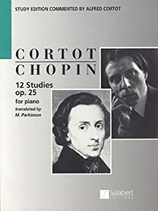 Chopin 12 Studies For Piano Op 25 Musical Expeditions from Editions Salabert