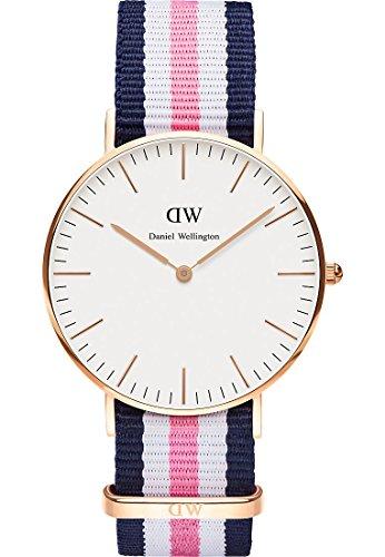 daniel-wellington-damen-armbanduhr-analog-quarz-one-size-weiss