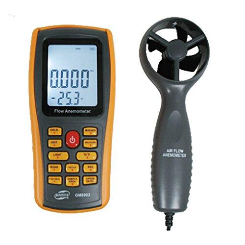 BENETECH GM8902 LCDデジタル 風速計 風量計風温度計 デジタル風速計 風速計 デジタル-10 to 45 C Anemometer