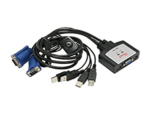 IOGEAR G2L5003P Micro-Lite Bonded All in One PS//2 KVM Cable 10-Feet