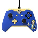 Xbox One Fallout 4 Vault Boy Wired Controller (Color: Blue)