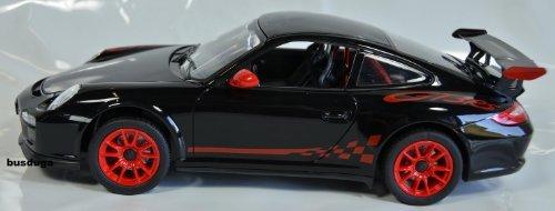 RC Porsche GT3 RS Maßstab.: 1:14 – ferngesteuert mit LED-Licht – komplett Set – Farbe.: schwarz – LIZENZ-NACHBAU bestellen
