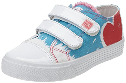 Agatha Ruiz de la Prada 152924, Low-Top Sneaker bambina, Blu (Blau (A-AZUL (PIQUE))), 28