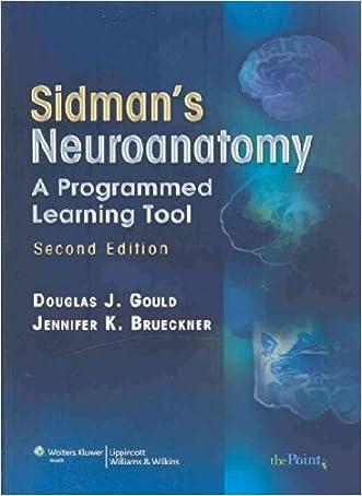 Sidman's Neuroanatomy: A Programmed Learning Tool