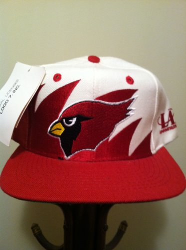 Arizona Cardinals Vintage Sharktooth Snapback Hat by Logo Athletic