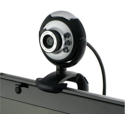 USB 30.0M 6 LED Webcam Camera Web Cam With Mic
