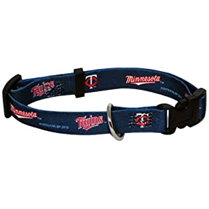 Hunter MFG Minnesota Twins Dog Collar, Extra Large