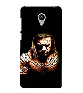 printtech Edge WWE Back Case Cover for Meizu m2 note