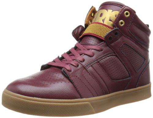 Osiris Shoes Mens Raider Brown/Gum/Gold Skateboarding 10 UK, 45 EU