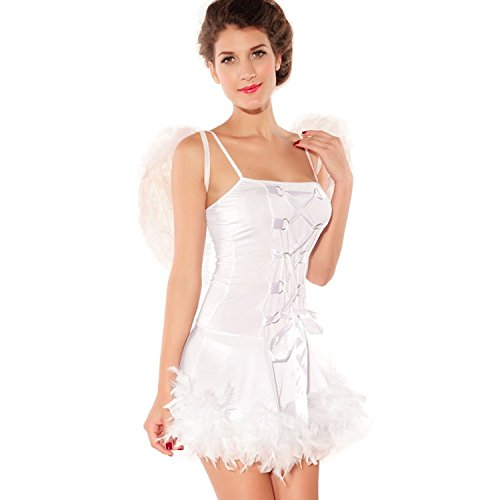 L04BABY Halloween Women's Theatrical Role-playing Suits Angel Costumes