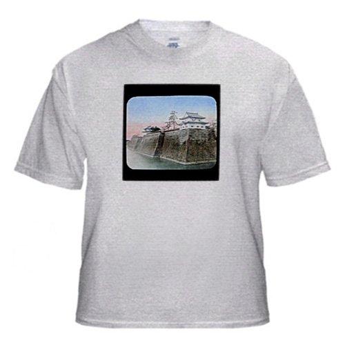 Japan Nakajima Osaka Castle - Adult Birch-Gray-T-Shirt 5XL