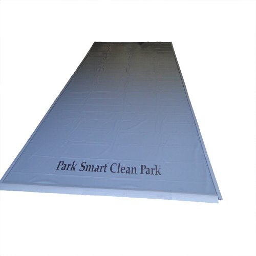 Auto Care Products Inc 60714 7.5-Feet by 14-Feet Clean Park Garage Mat with 20-mil Vinyl Sheeting