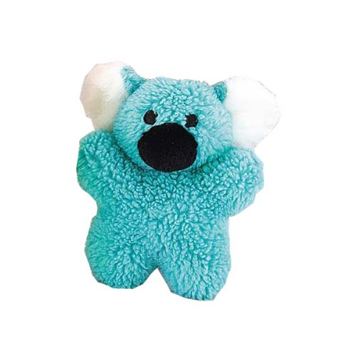 Zanies Cuddly Berber Fleece Babies Dog Toy, Koala, 8-Inch, Blue