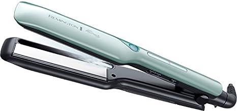 Remington PROtect S8700 - Plancha de pelo (revestimiento de cerámica, pantalla digital integrada con 6 ajustes)