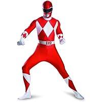 Red Ranger Deluxe Bodysuit Adult Costume (Medium/38-40)