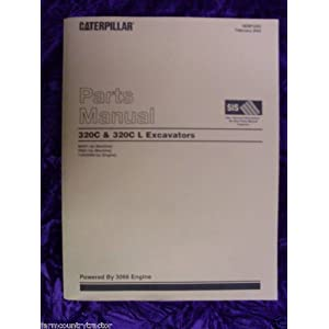Caterpillar 320C/320C L Excavator OEM Parts Manual: Caterpillar 320C