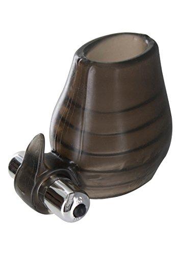Vibrierende Hoden-Manschette in rauchgrau