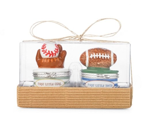 Mud Pie Sports Tooth/Curl Treasure Box Set - 1