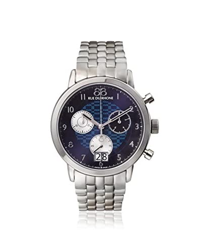 88 Rue du Rhone Men's 87WA140031 Silver/Blue Stainless Steel Watch