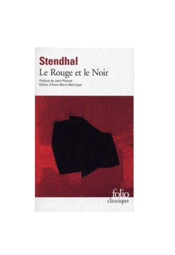 Stendhal: Le Rouge et le Noir (Folio Classique) (French...