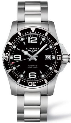 Longines Watches Longines Sport Collection Hydroconquest Water Resistant 1000 feet Automatic Men's Watch