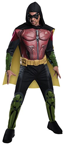 Rubie's Costume Men's Batman Arkham City Deluxe Muscle Chest Robin - S, M, L, XL