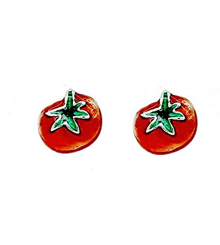 red-tomato-stud-earrings