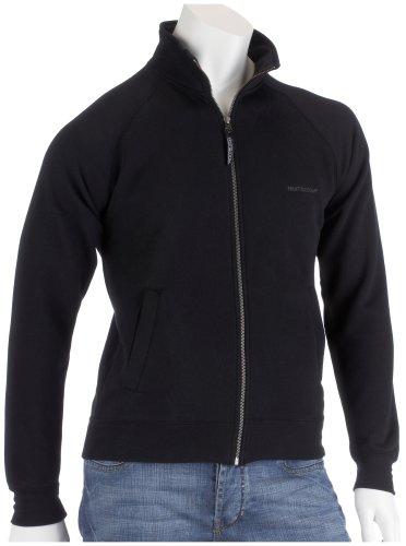 fruit-of-the-loom-classic-sweat-jacket-schwarz-l