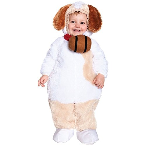 [GSG St. Bernard Costume Baby Halloween Fancy Dress] (St Bernard Baby Costumes)