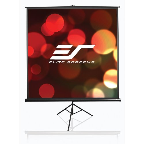 Elite Screens T113UWS1 Tripod Series Portable Projection Screen (113