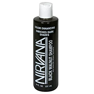 Nirvana Shampoo, Black Walnut, 8 fl oz (237 ml) (Pack of 3)