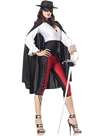 clothing shoes jewelry costumes accessories costumes womenZorro Costume For Women