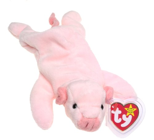 TY Beanie Baby - SQUEALER the Pig - 1