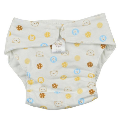 Yellowbear Infantbaby Breathable Pant Waterproof Newborn Toddlers Washablediaper front-109437