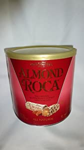 Almond Roca 42oz Canister by Brown & Haley