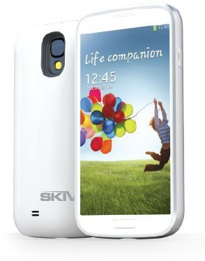 Skiva Powerskin S4 Battery Case (2600Mah) *With Nfc/Google Wallet* For Samsung Galaxy S4 [Model No. Ap108] - 1 Year Warranty And Lifetime Support