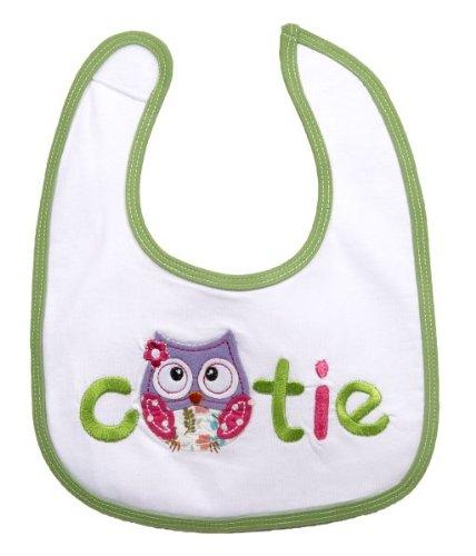 Ganz Baby Cutie Owl Bib - 1