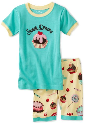 Hatley Short P.J. Set - Candy Sweet Dreams Girl's Pyjames