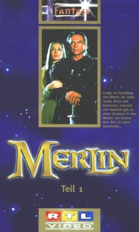 Merlin - Teil 1+2 [VHS]