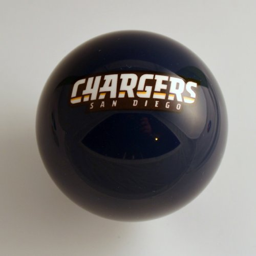 SAN DIEGO CHARGERS shift knob (Blue) at Amazon.com
