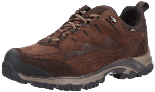 Meindl Barcelona GTX 600194, Scarpe da trekking uomo, Marrone (Braun (dunkelbraun)), 44