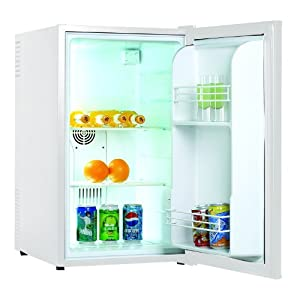 Klarstein MKS-6 Mini Bar Refrigerator (70Litre 2 Shelves & 30dB Low Noise Emission) – Matt White