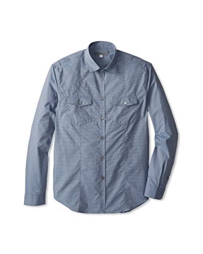 John Varvatos Collection Men's Military Chest Shirt