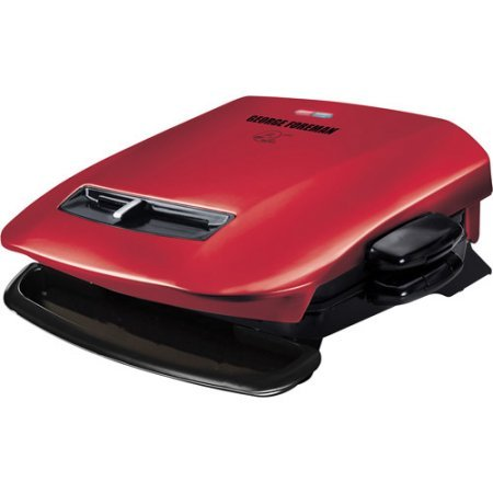 George Foreman Removable-Plate Grill Red, GRP2841R (George Foreman Grp2841r Plates compare prices)