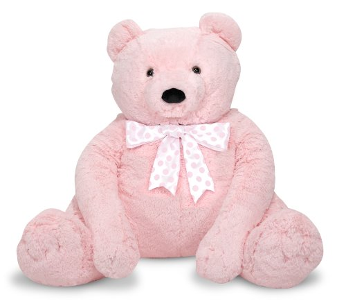 Jumbo Pink Teddy Bear