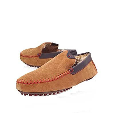 Ted Baker Carota 3 9-12727 Mens Slip On Suede Slippers Tan - 6