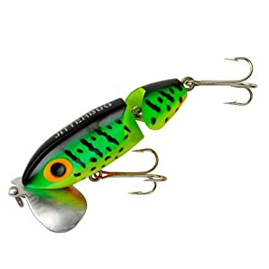 Arbogast jointed jitterbug fishing lures for Jitterbug fishing lure
